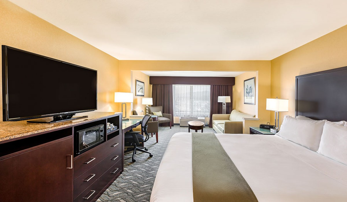 All of our guestrooms are ADA Defined service-animal friendly