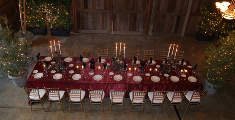 Guglielmo Winery Large Dinning Table