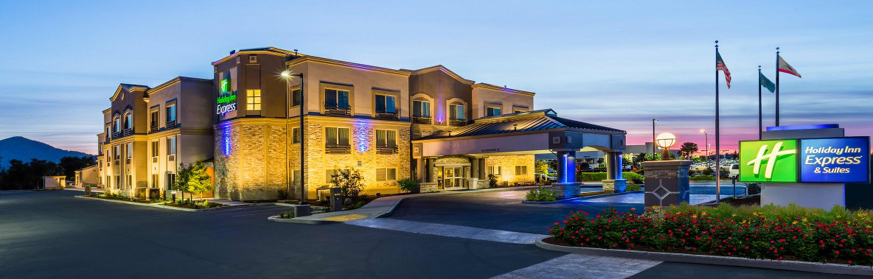 Welcome to Holiday Inn Express & Suites Morgan Hill